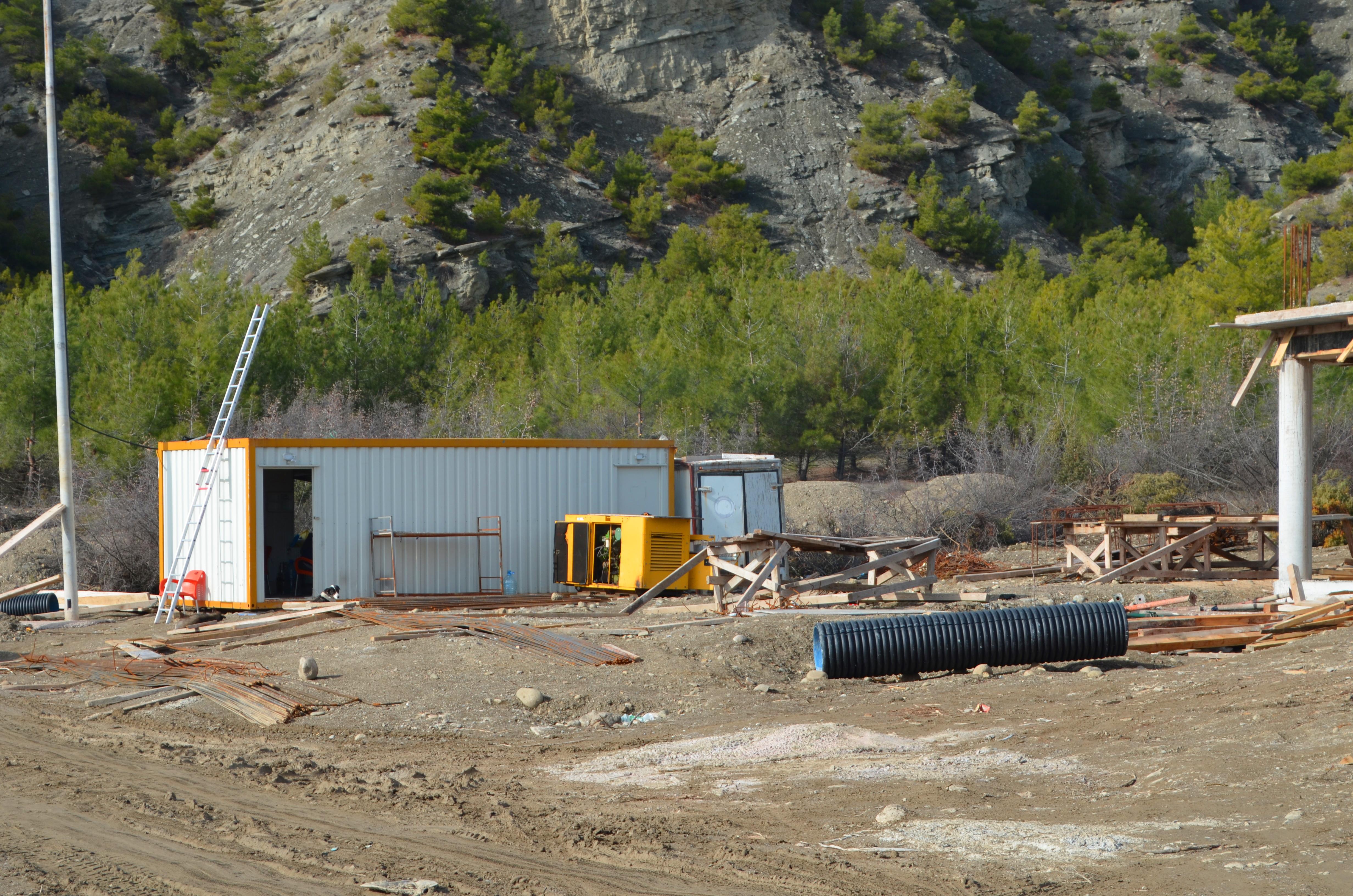 Osb Hizmet Binası - Çorum Dörtçelik Konteyner Metal Pvc İnşaat