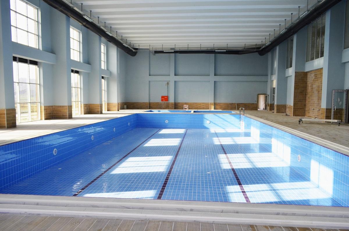 Yüzme Havuzu ve Spor Kompleksi - Çorum Dörtçelik Konteyner Metal Pvc İnşaat