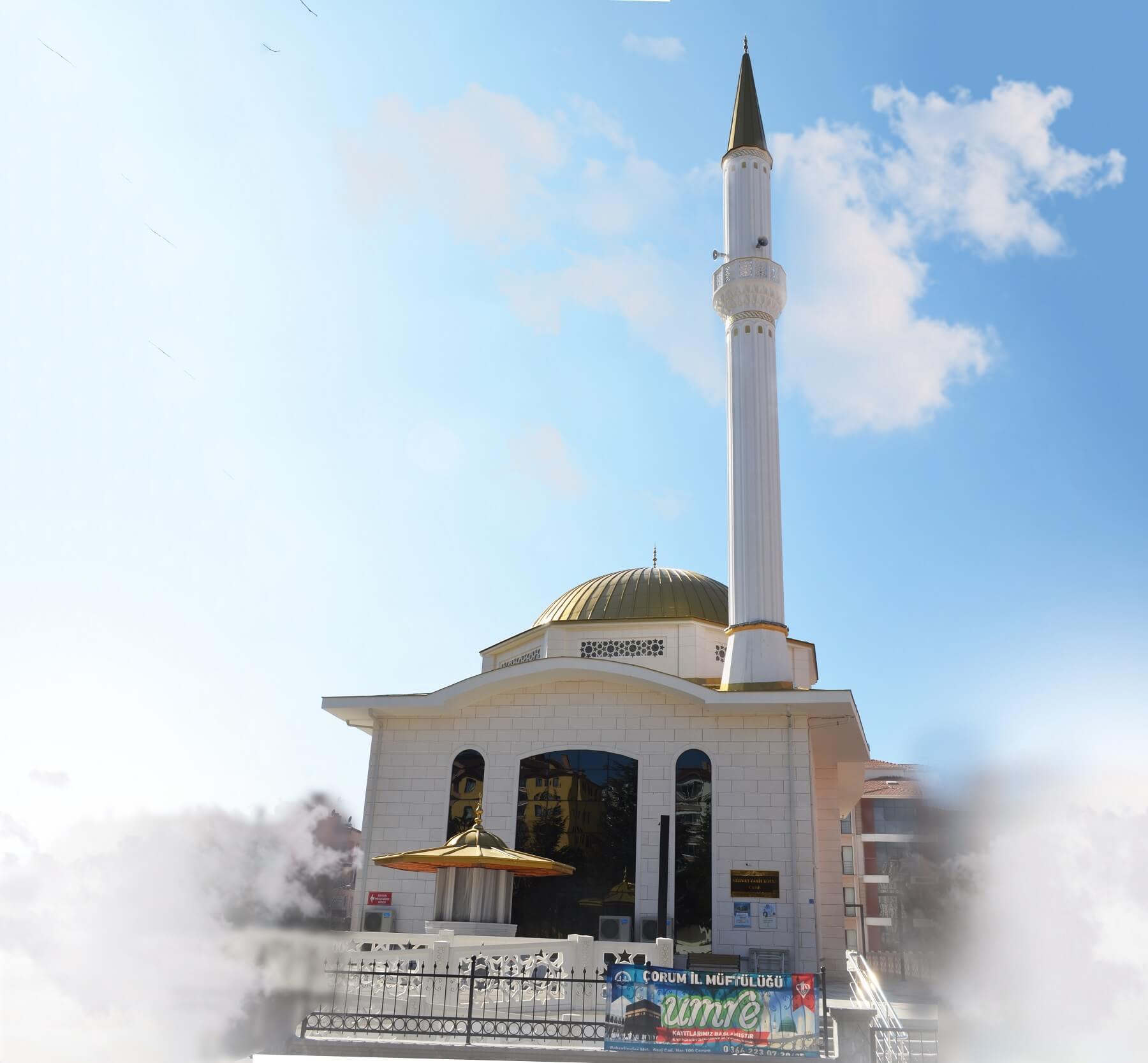 Mehmet Zahit Kotku Cami - Çorum Dörtçelik Konteyner Metal Pvc İnşaat